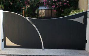 esthétique motorisation de portail