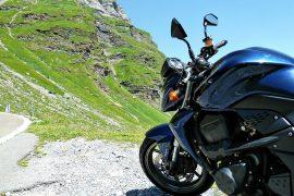 moto en montagne